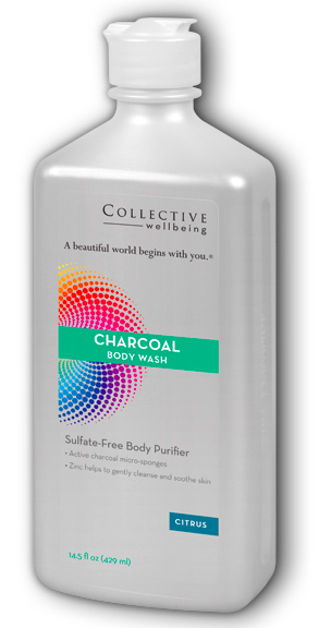 Image of Charcoal Body Wash Citrus
