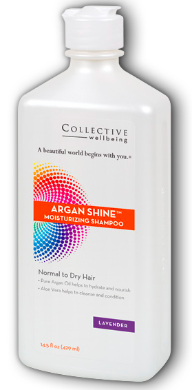 Image of Argan Shine Moisturizing Shampoo Lavender (Normal to Dry Hair)