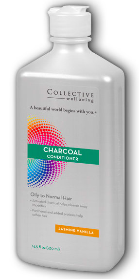 Image of Charcoal Conditioner Jasmine Vanilla (Oily to Normal Hair)