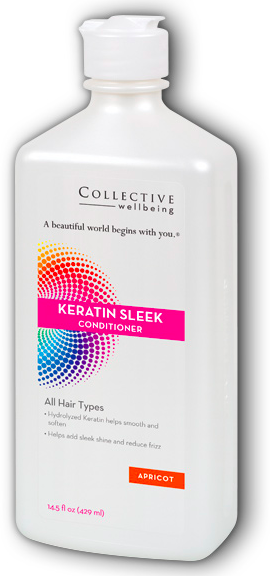 Image of Keratin Sleek Conditioner Apricot