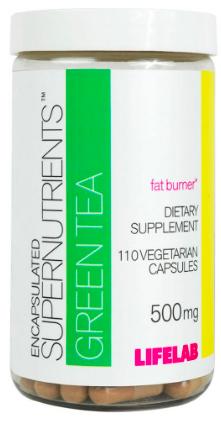 Image of ENCAPSULATED SUPERNUTRIENTS Green Tea 500 mg