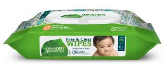 Image of Free & Clear Baby Wipes