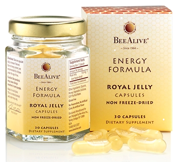 Image of Royal Jelly Capsules Energy Formula