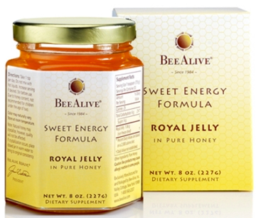 Image of Royal Jelly in Honey Sweet Energy Formula
