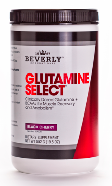 Image of Glutamine Select Powder Black Cherry
