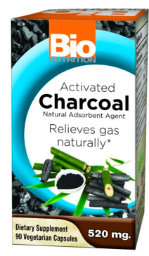 Image of Activated Charcoal 260 mg