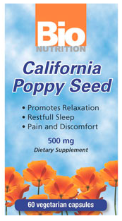 Image of Califonia Poppy Seed 500 mg