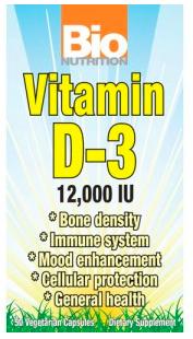 Image of Vitamin D3 12,000 IU