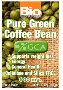 Image of Pure Green Coffee Bean Extract 800 mg