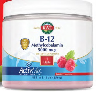 Image of B-12 Methylcobalamin ActivMix Raspberry