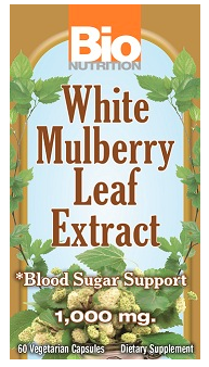 Image of White Mulberry Leaf Extract 1000 mg