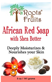Image of Bar Soap African Red with Shea Butter