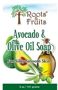 Image of Bar Soap Avocado & Olive Oil