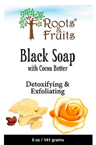Image of Bar Soap Black with Cocoa Butter & Orange Peel