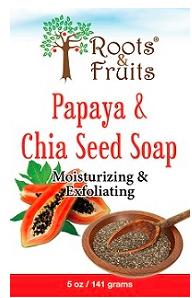 Image of Bar Soap Papaya & Chia Seed