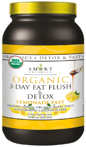 Image of 3-Day Fat Flush & Detox Lemonade Fast Organic Powder