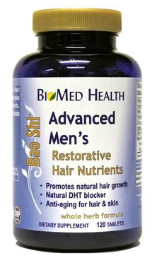 Image of Bao Shi Restorative Hair Nutrients Advanced Men's
