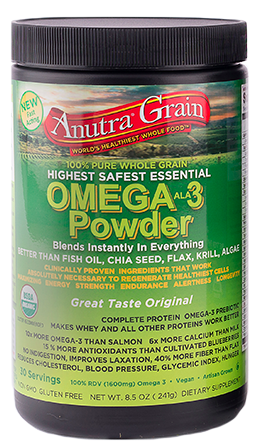 Image of Anutra Grain Omega-3 Powder Chocolate