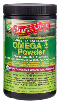Image of Anutra Grain Omega-3 Powder Mixed Berry