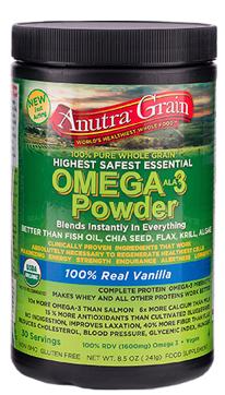 Image of Anutra Grain Omega-3 Powder Vanilla