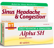 Image of Alpha SH (Sinus Headache & Congestion)