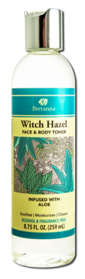 Image of Witch Hazel Face & Body Toner Aloe