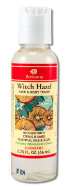 Image of Witch Hazel Face & Body Toner Citrus & Sage