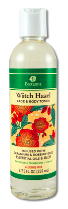 Image of Witch Hazel Face & Body Toner Geranium & Rosehip Seed