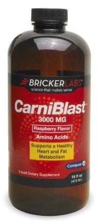 Image of CarniBlast 3000 mg Liquid Raspberry