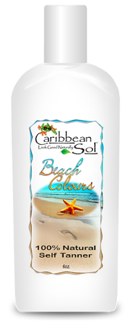 Image of Beach Colours 100% Natural Self Tanner