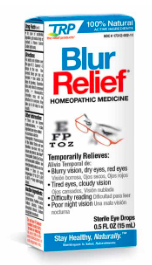 Image of Blur Relief Homeopathic Eye Drops