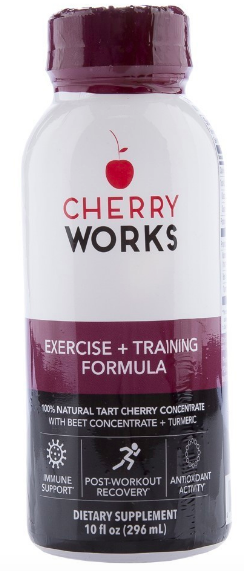 Image of Cherry Works Exercise + Training Formula with Beet and Turmeric Liquid