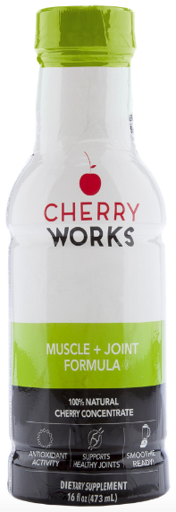 Image of Cherry Works Muscle + Joint Formula Liquid (Honey & Cinnamon)