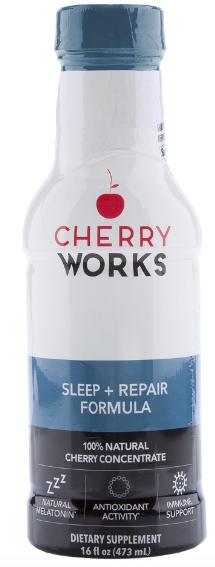 Image of Cherry Works Sleep + Repair Formula Liquid (Tart Cherry)