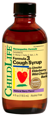 Image of Formula 3 Cough Syrup Berry