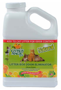 Image of Litter Box Odor Eliminator Citrus