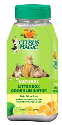 Image of Litter Box Odor Eliminator Shake Light Citrus