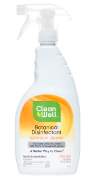 Image of Botanical Disinfectant Bathroom Cleaner