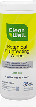 Image of Botanical Disinfectant Wipes