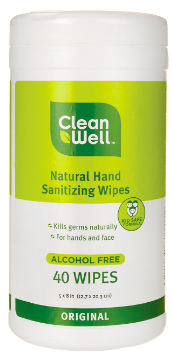 Image of Hand Sanitizing Wipes Original in Canister