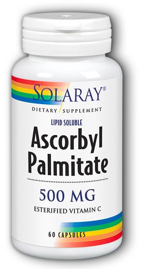 Image of Ascorbyl Palmitate 500 mg (Esterified Vitamin C)