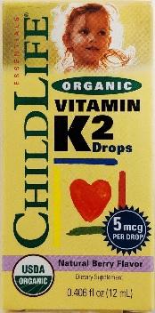 Image of Organic Vitamin K2 Natural Berry