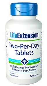 Image of Life Extension Two-Per-Day Tablets