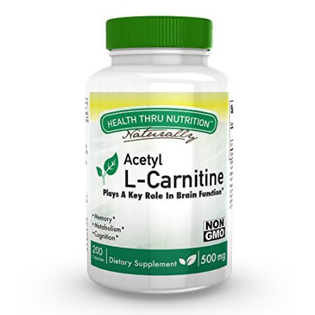 Image of Acetyl L-Carnitine 500mg