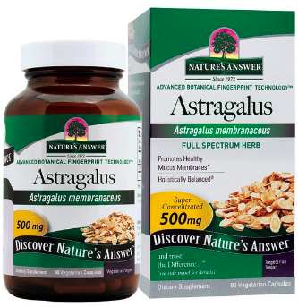 Image of Astragalus 500 mg Standardized Capsule