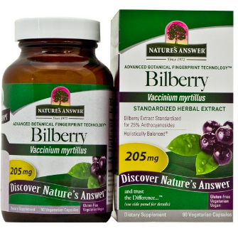 Image of Bilberry 205 mg Standardized Capsule