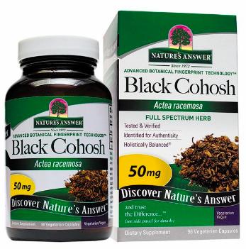 Image of Black Cohosh 50 mg Capsule