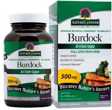 Image of Burdock 500 mg Capsule