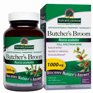 Image of Butcher's Broom 500 mg Capsule
