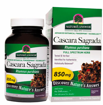 Image of Cascara Sagrada 425 mg Capsule